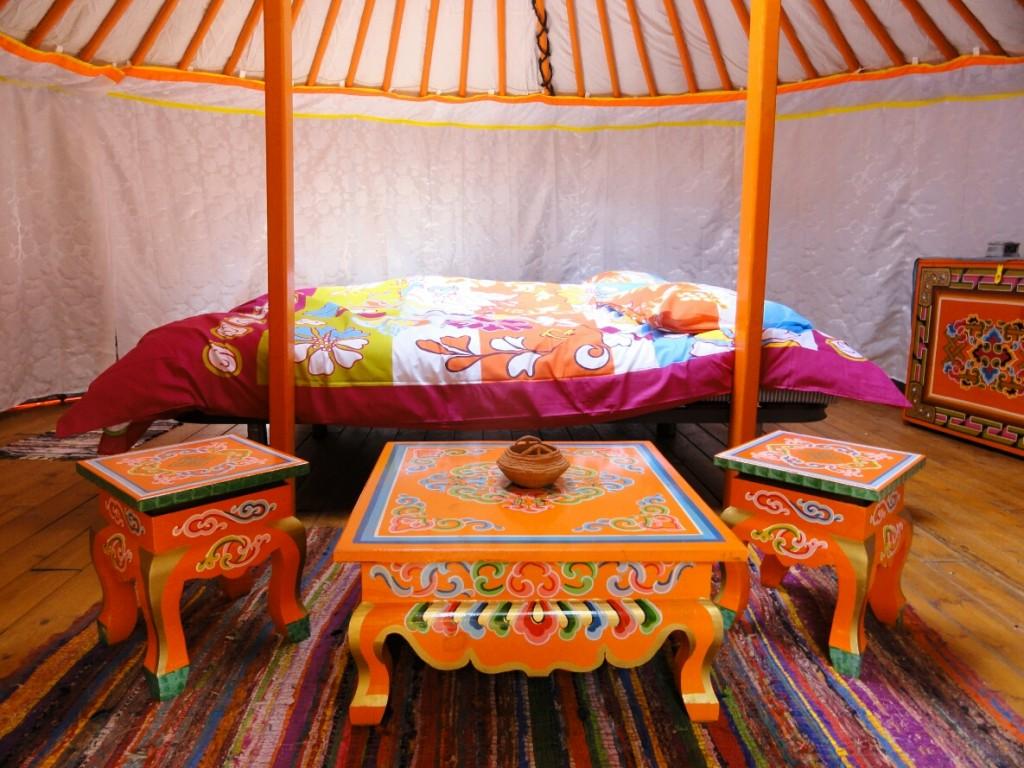 Inrichting Yurt 2 tot 4 personen