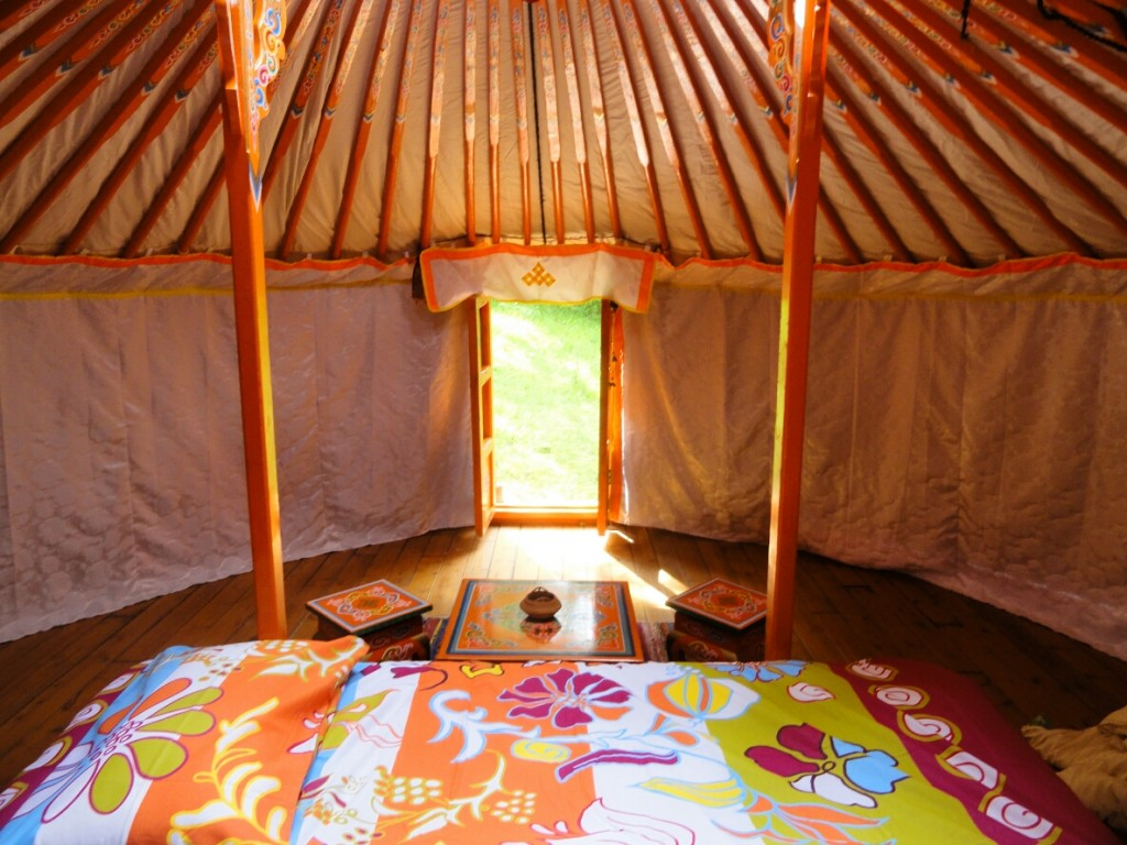 Inrichting Yurt
