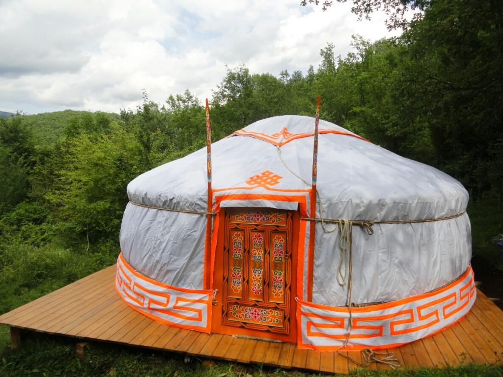 Yurt voor 1 tot 4 personen